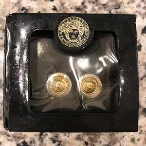 Vintage Versace Medusa earrings